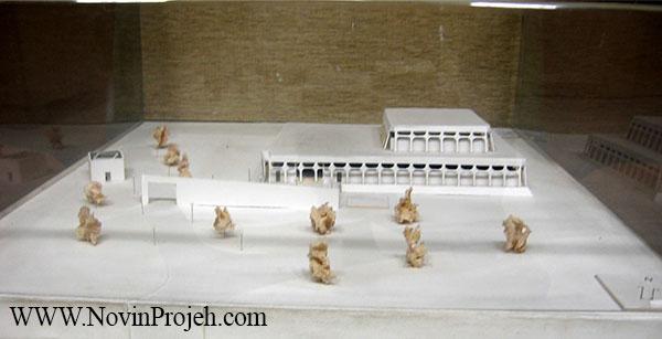 ماکت موزه فرش ایران
