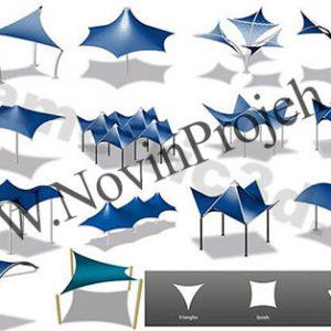 انواع سازه چادری