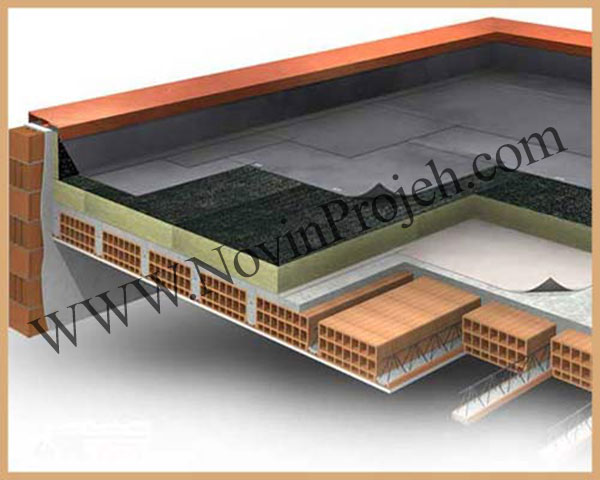 عایق بندی حرارتی و صوتی در سقف