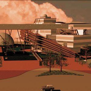 طراحی معماری مجتمع تجاری تفریحی