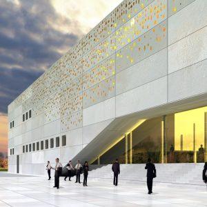 پایان نامه معماری خانه نمایش و موسیقی