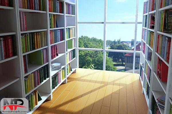پایان نامه کامل طراحی کتابخانه مدرن