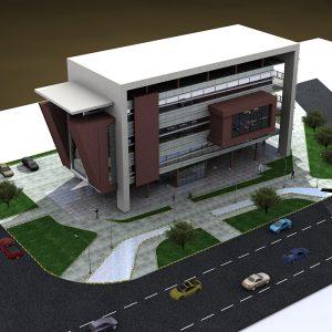پروژه معماری شهرداری