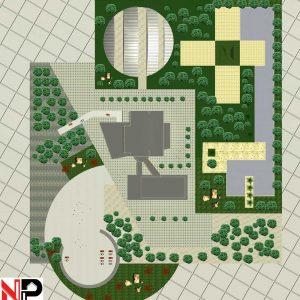 طراحی بیمارستان 150 تختخوابی