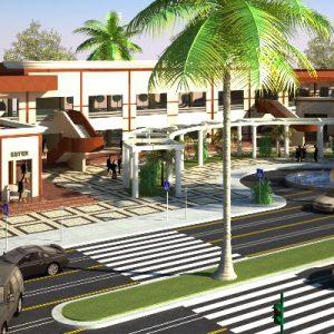 پروژه معماری طراحی مرکز خرید