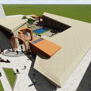 پروژه معماری طراحی گالری هنر