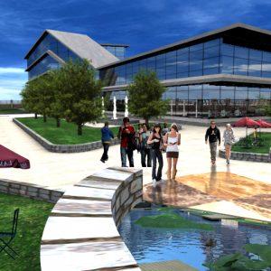 پروژه معماری کتابخانه عمومی