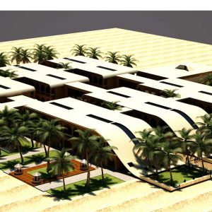 پروژه معماری طراحی بازار سنتی