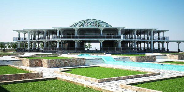 پروژه معماری طراحی مجموعه فرهنگی