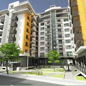 پروژه مجتمع مسکونی اقلیم معتدل