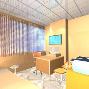 پروژه معماری طراحی بیمارستان