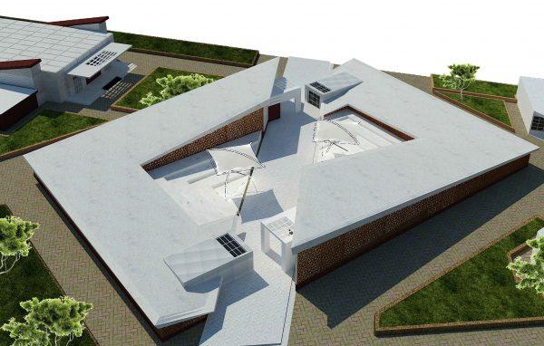 پروژه معماری طراحی خانه فرهنگ و هنر