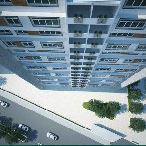 پروژه معماری طراحی مجتمع مسکونی