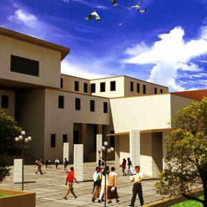 طراحی دانشکده معماری