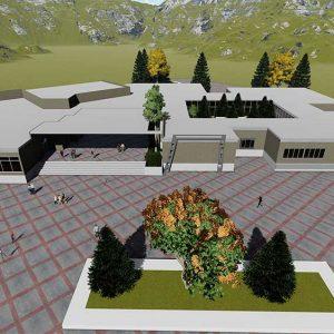 پروژه معماری طراحی موزه