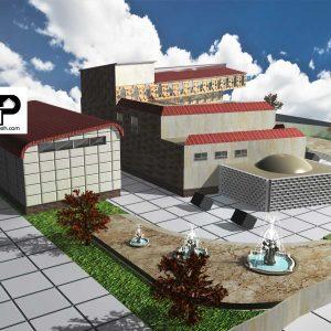 پروژه طراحی دانشکده معماری