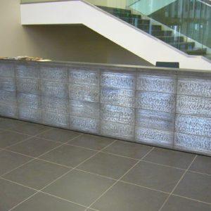 کاربرد بلوک شیشه ای در دیوار