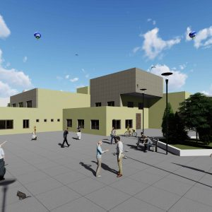 پروژه معماری مدرسه معلولین